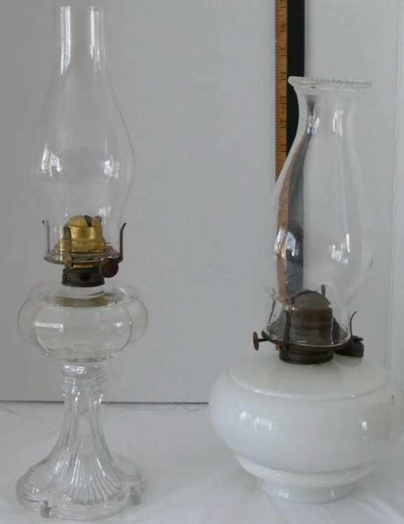 Two Kerosene Lanterns