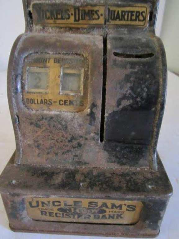 Uncle Sam's register bank