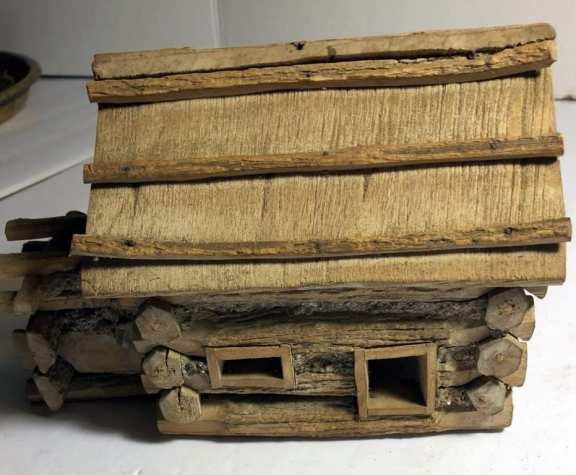 Unusual Primitive Log Cabin