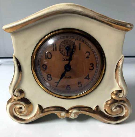 Wedgeport China Alarm Clock
