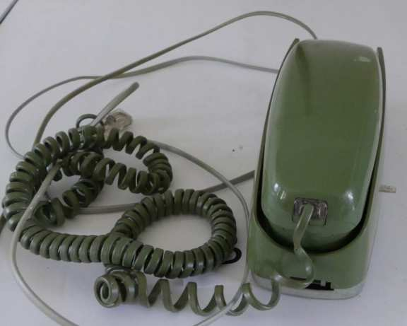 Western Electric Avocado Rotary Phone