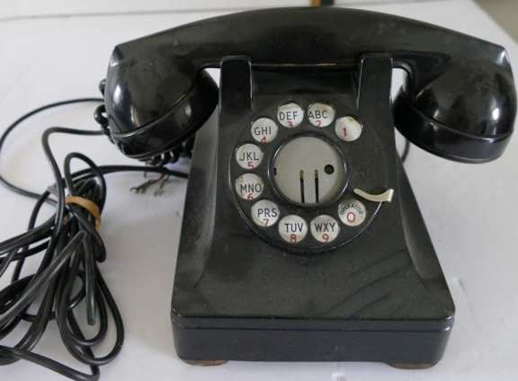 Western Electric Rotary Desk Phone