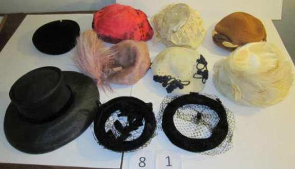 10 vintage hats