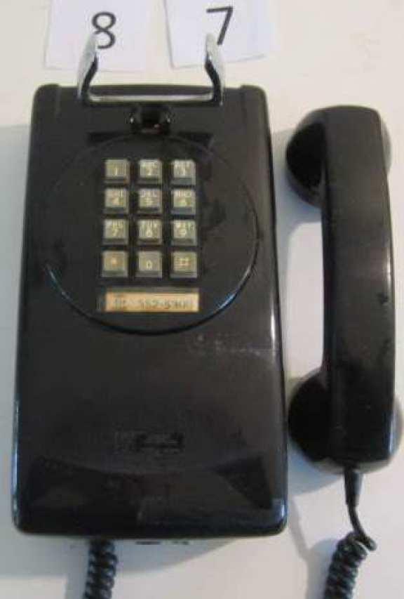 1960 wall phone
