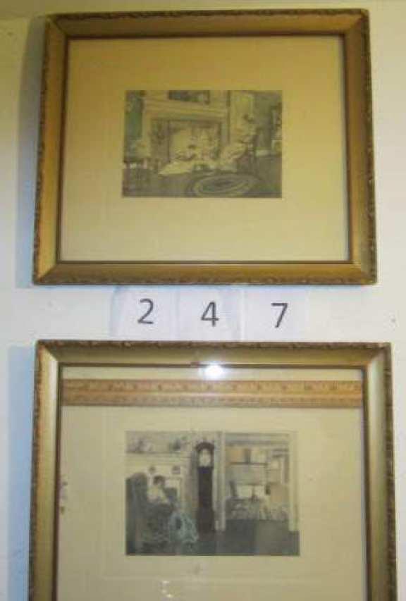 2 old prints