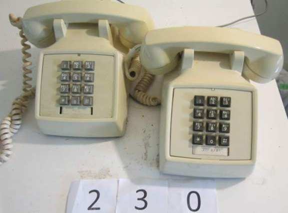 2 touch tone phones