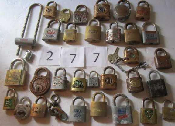 31 locks without keys