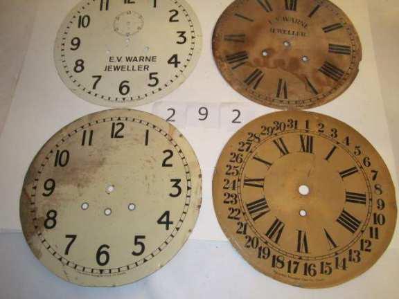 4 Original Pequegnat dials