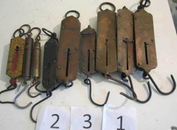 9 old scales