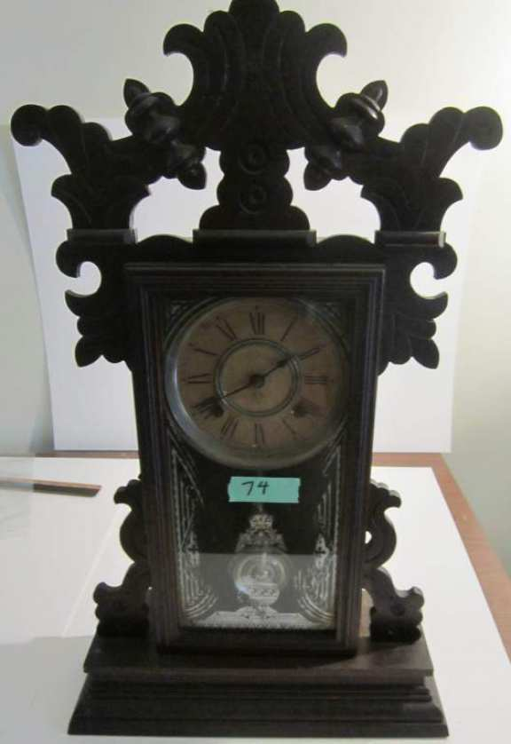 Ansonia gingerbread clock