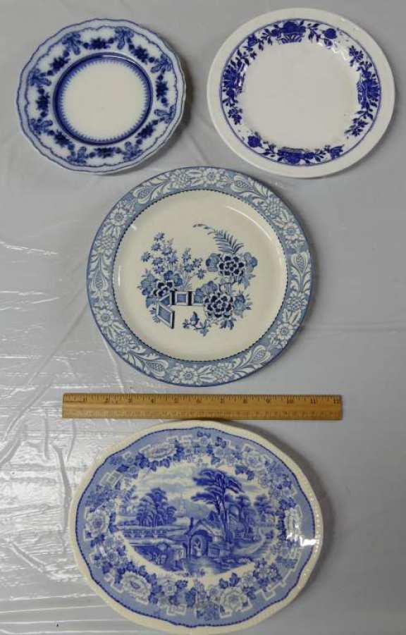 Blue & White Ware - England