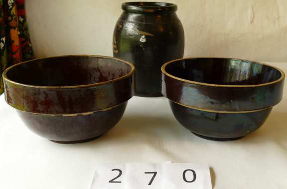 Brown Pottery
