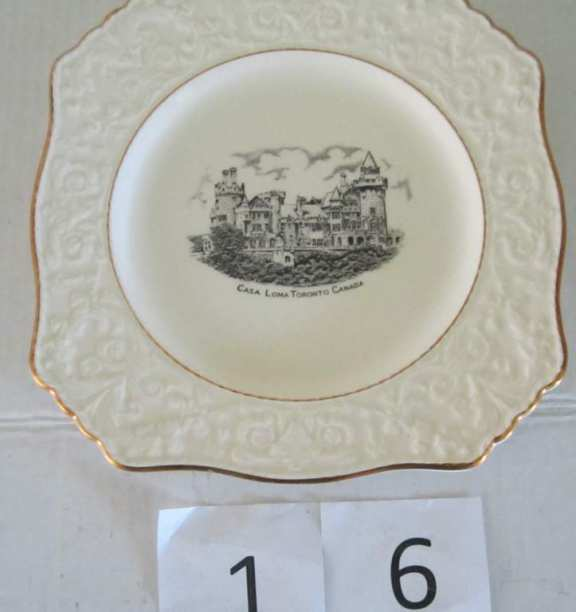 Casa Loma souvenir plate