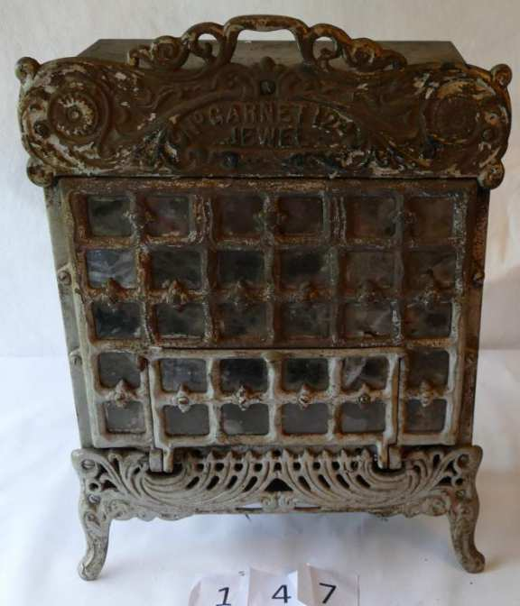 Cute Little Ornate Gas Heater