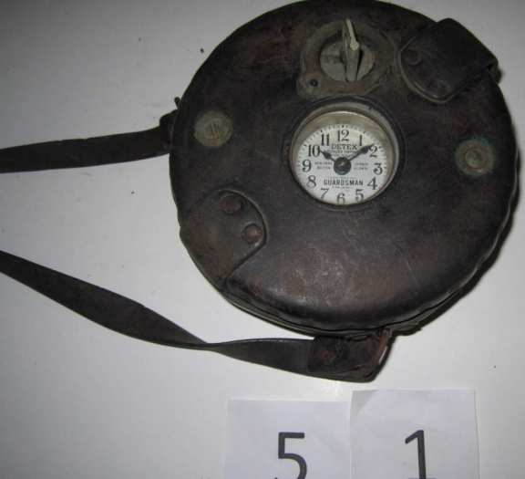 Detex larger night watchman's clock