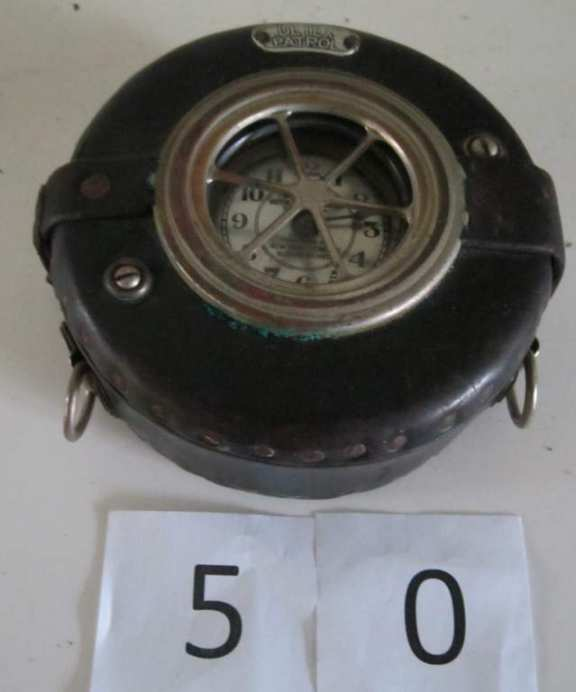 Detex night watchman's clock