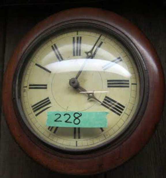 Early postman's clock