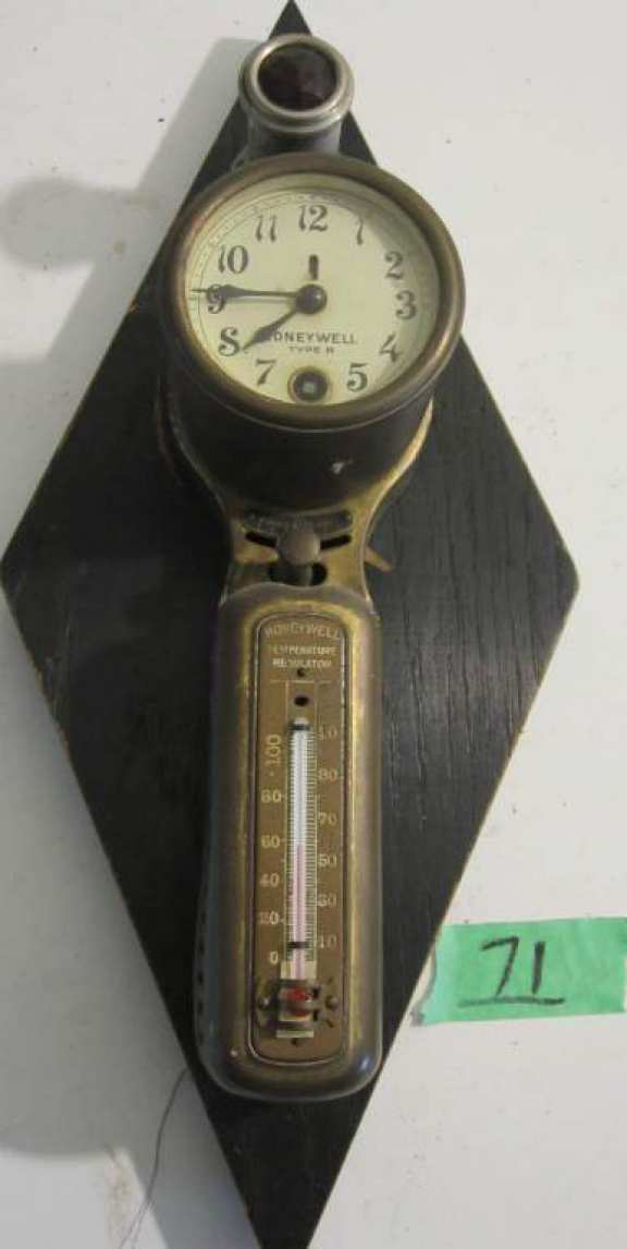 Honeywell temperature regulator