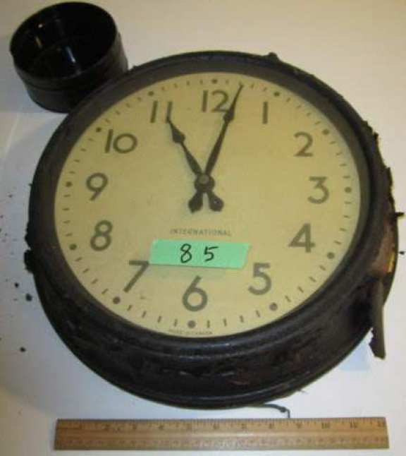 International slave clock