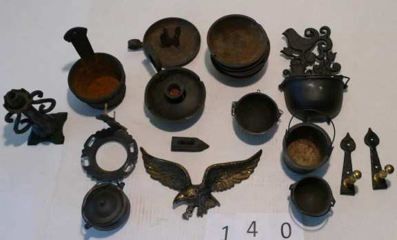 Lot of various cast iron