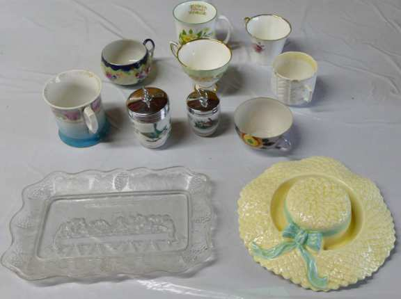 Misc. Teacups and Other Glassware