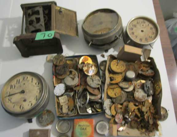 Miscellaneous clock parts