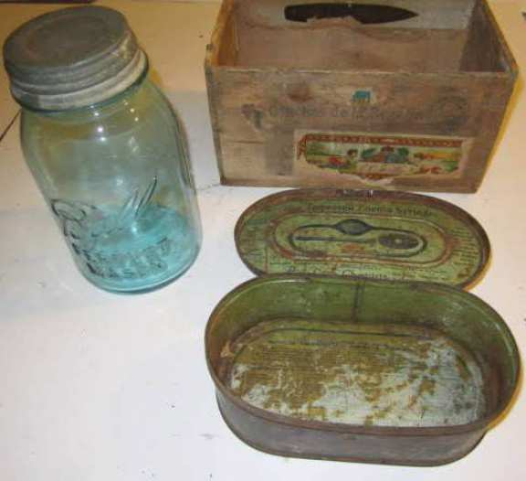 Old containers