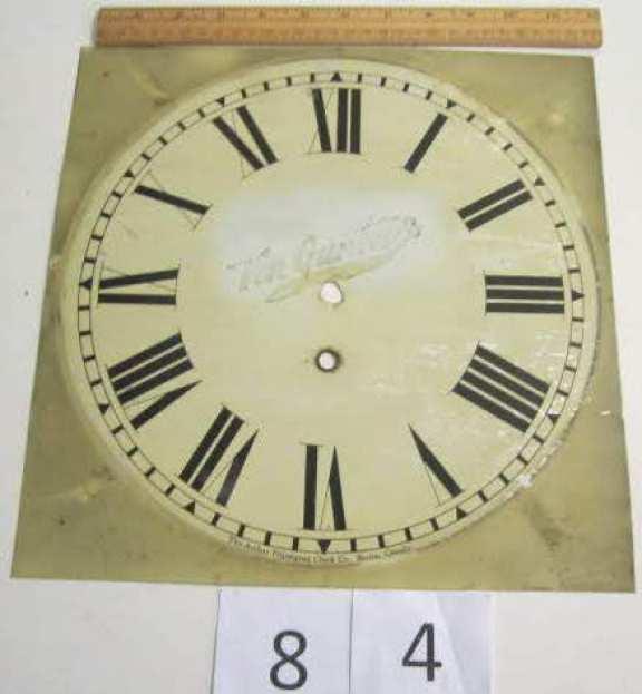Pequegnat Canadian Time dial