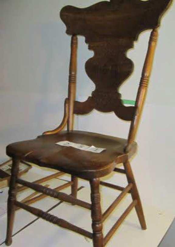 Queen Victoria Press back chair