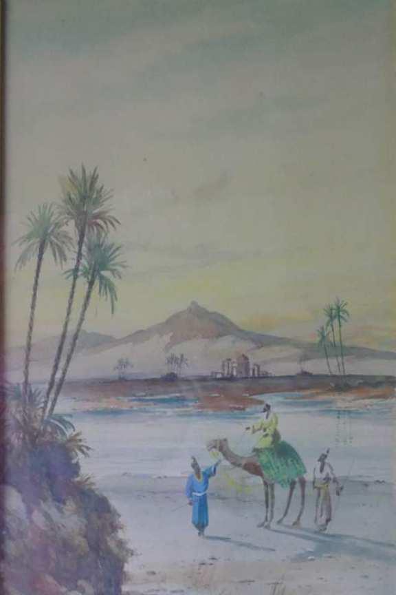 R. Macauley Watercolour Circa 1900