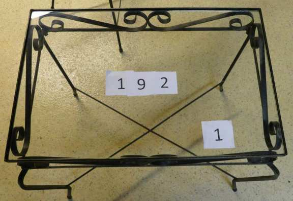Set of Three Wrought Iron Tables
