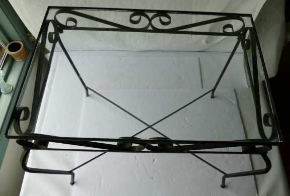 Set of Two Wrought Iron Tables