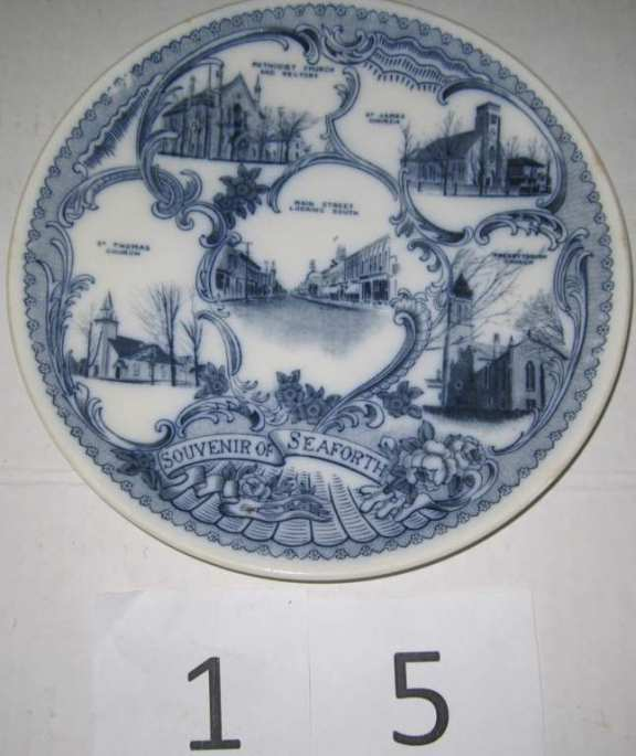 Souvenir plate Seaforth ON