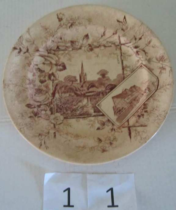 Stratford souvenir plate
