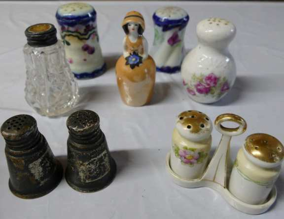 Various Salt & Pepper Shakers