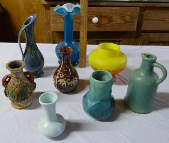 Various Vases - Van Briggle 1920's