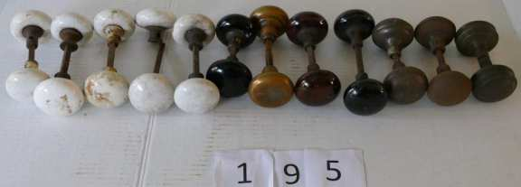 Various Vintage Door Knobs