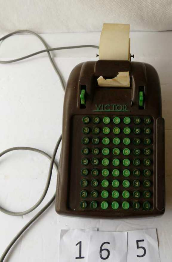 Victor Electric Adding Machine