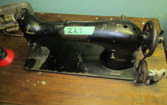 Vintage Fir sewing machine
