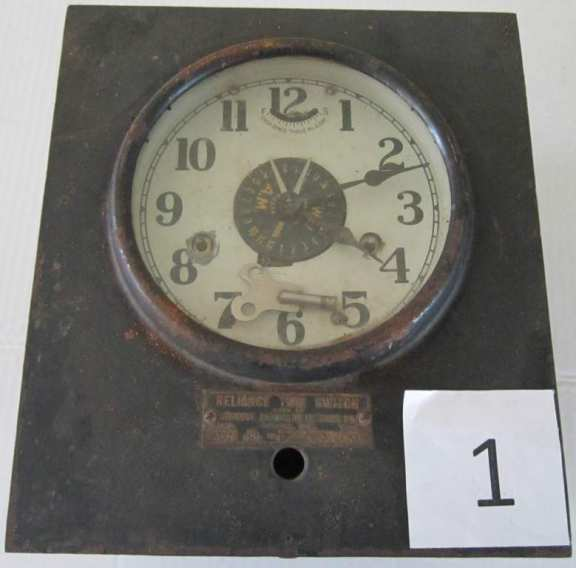 Vintage Industrial Time Switch